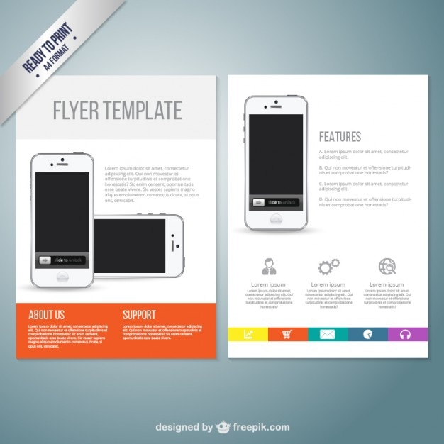 free flyer downloads templates