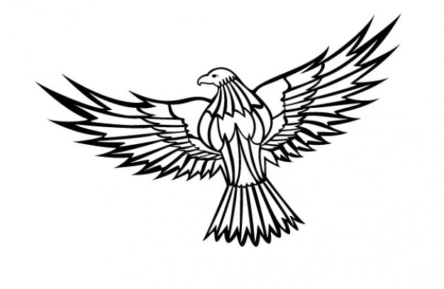 flying eagle clipart vector free download rh freepik com eagle clip art free eagle clip art free download
