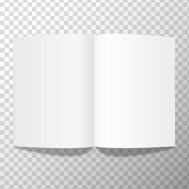 Folded white paper sheet vector illustration concept image Premium Vector