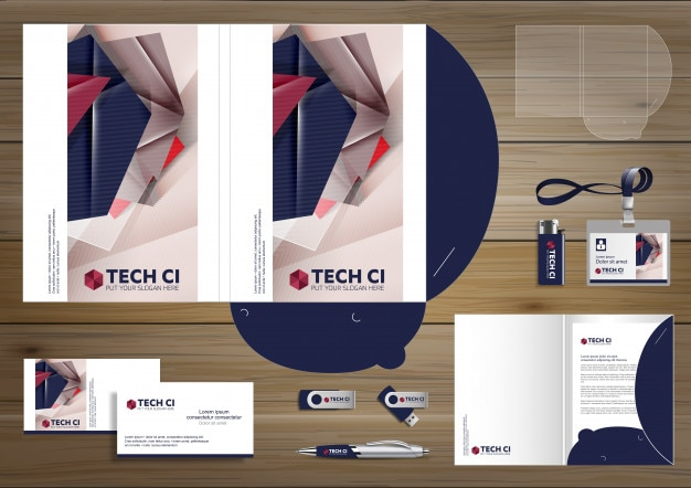 Folder template design digital technology company corporate folder template design digital technology company corporate identity stationery people community friends presentation wajeb Choice Image
