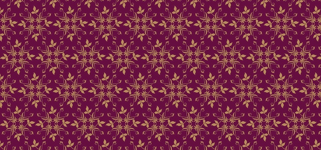 Foliage vintage seamless pattern Premium Vector