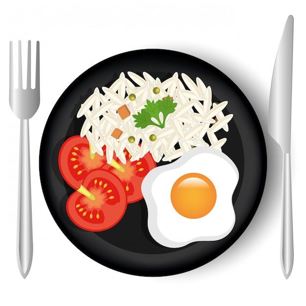 Еда и гастрономия графика. Бесплатные векторы