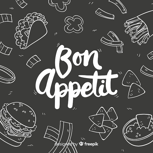 Food background Free Vector
