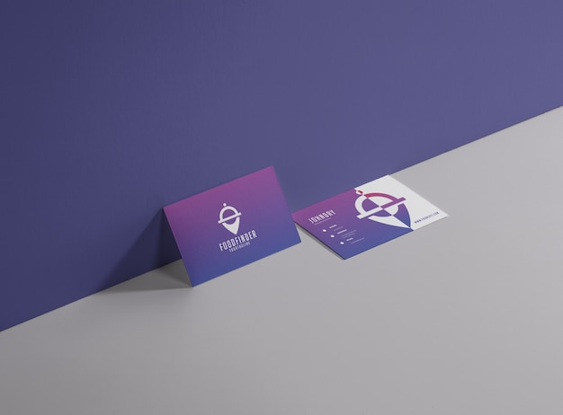 Food and drink business card Premium Vector