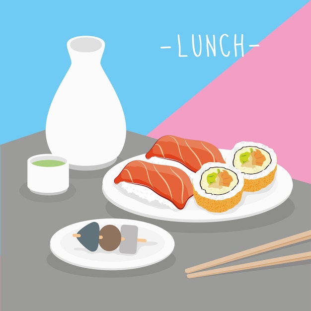 Food meal lunch dairy eat drink menu restaurant vector Premium Vector