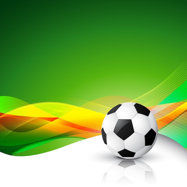 football abstract background Free Vector