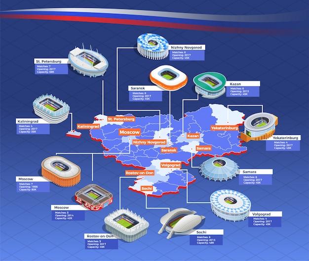 Diagramma di flusso della coppa di calcio Vettore gratuito