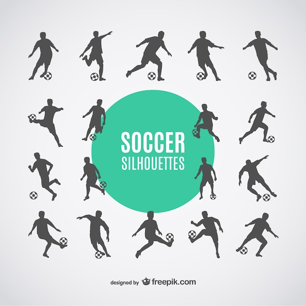 بازیکنان فوتبال سایه