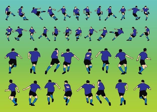 Football Players Vectors