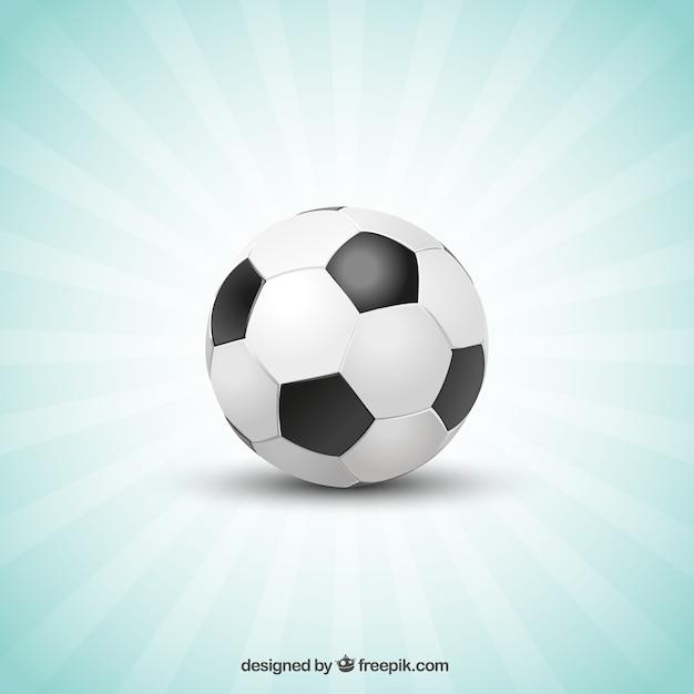 football sunburst template vector free download
