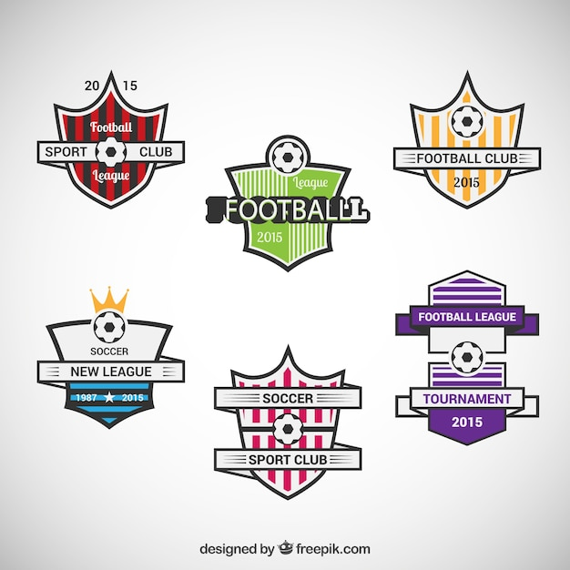 Football team badges vector free download football team badges free vector maxwellsz