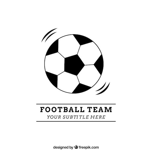 Football team logo Vector : Premium Download
