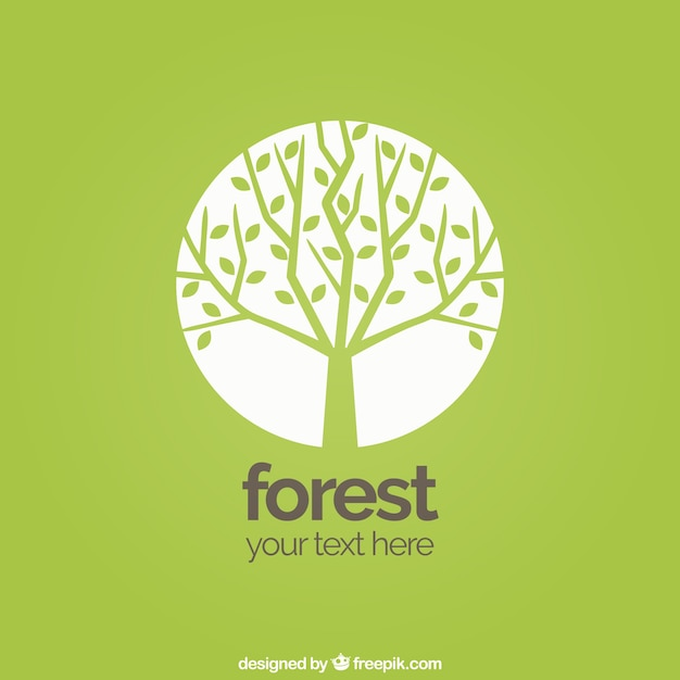 forest background vector free download