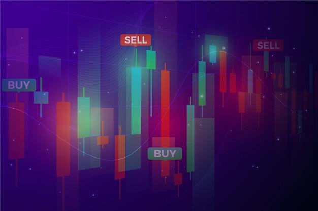 外国為替取引の背景 無料ベクター