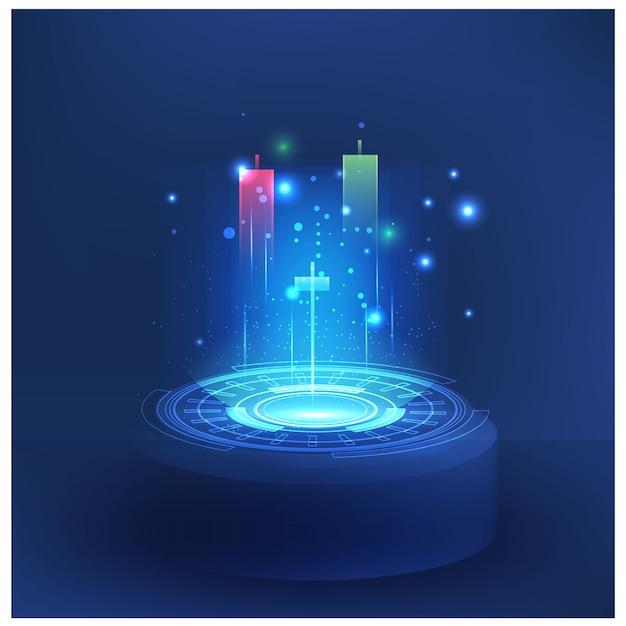 Футуристические технологии контролируют фондовый рынок forex trading graph вектор футуристический умные инвестиционные технологии контролируют систему защиты глобальной сети финансовых инвестиций экономических тенденций Premium векторы