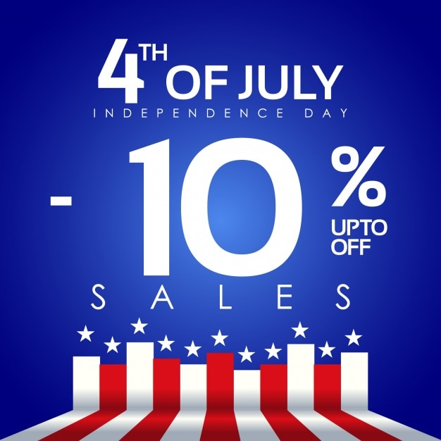 Fourth of july 10% discount
