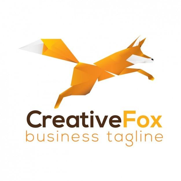 Fox Logo Template Vector | Free Download