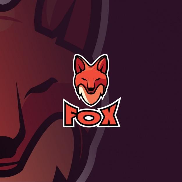 Fox Logo Free Vector