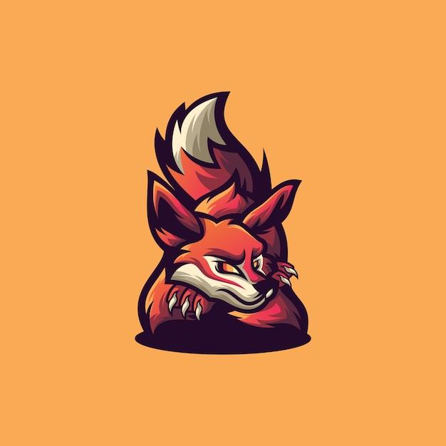 Fox sport logo Premium Vector