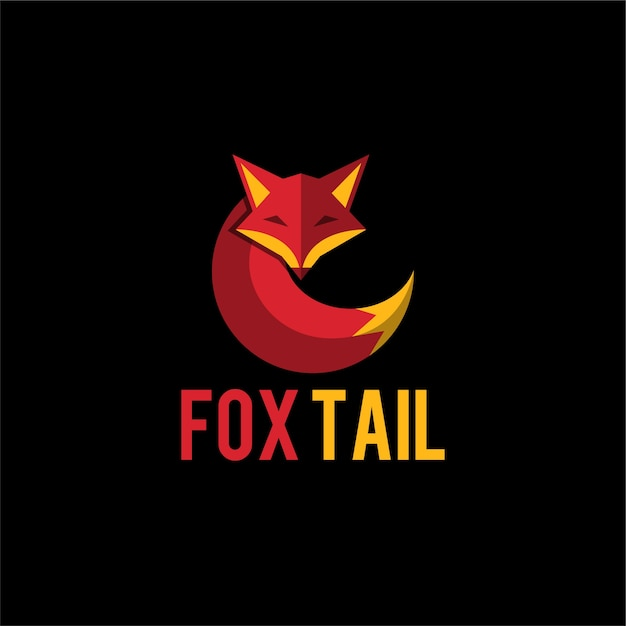 Fox tail logo Vector | Premium Download