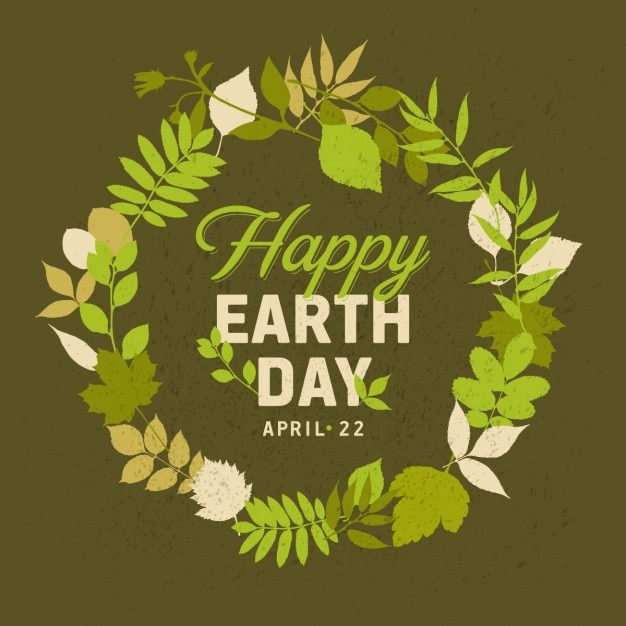 Frame for earth day Vector | Free Download
