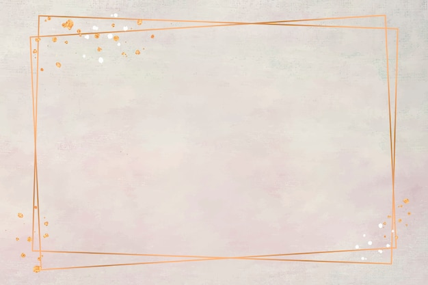 Frame on pastel colors Free Vector