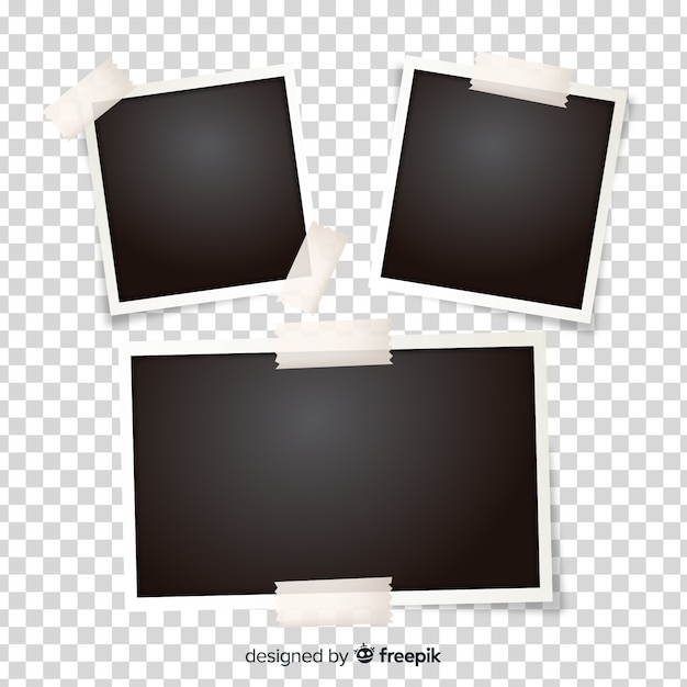 Frame picture collection Free Vector
