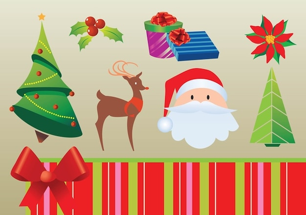 Free Christmas Graphics Free Vector