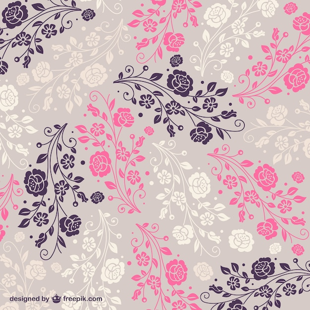 Free Floral Pattern Vector   Free Download