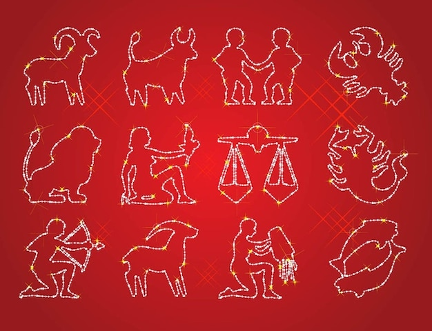 Free Horoscope Signs Vectors Free Vector