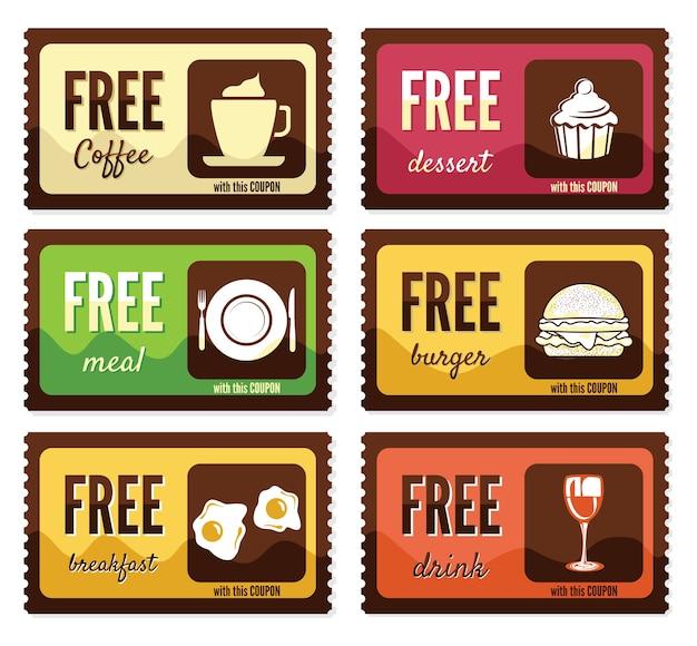 Free labels Premium Vector