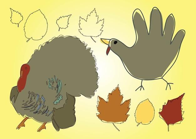 Free Thanksgiving Vector Free Vector