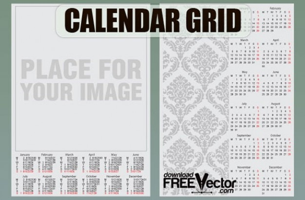 free grid template