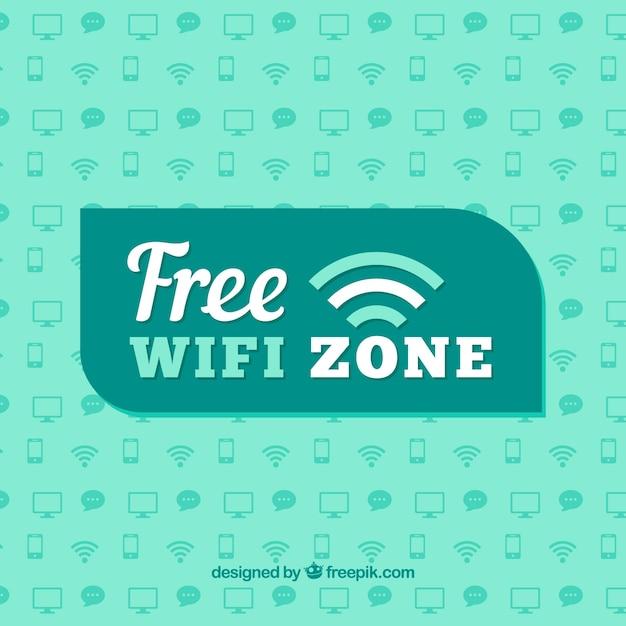 Download Vector - Free wifi zone background - Vectorpicker