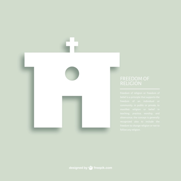 Freedom of religion message template