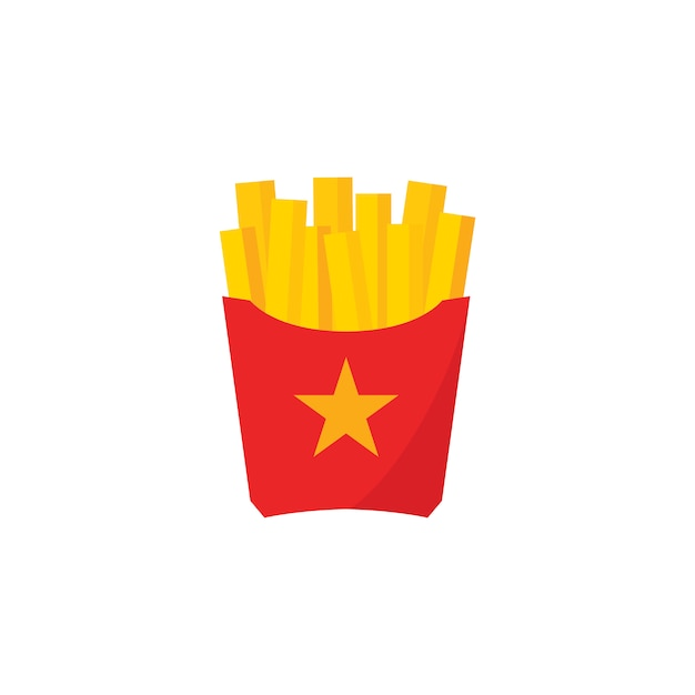 Fries Free Vector