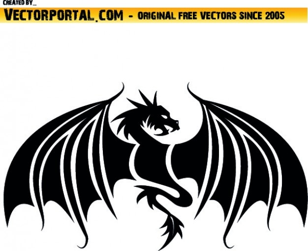 dragon wings vectors, photos and psd files | free download