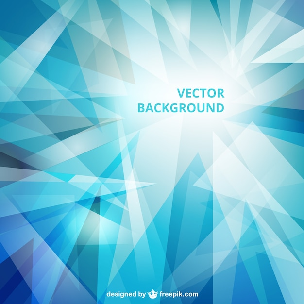 frozen background in blue tones Free Vector