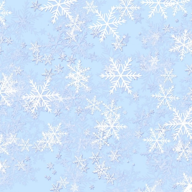 Frozen snowflake background Free Vector