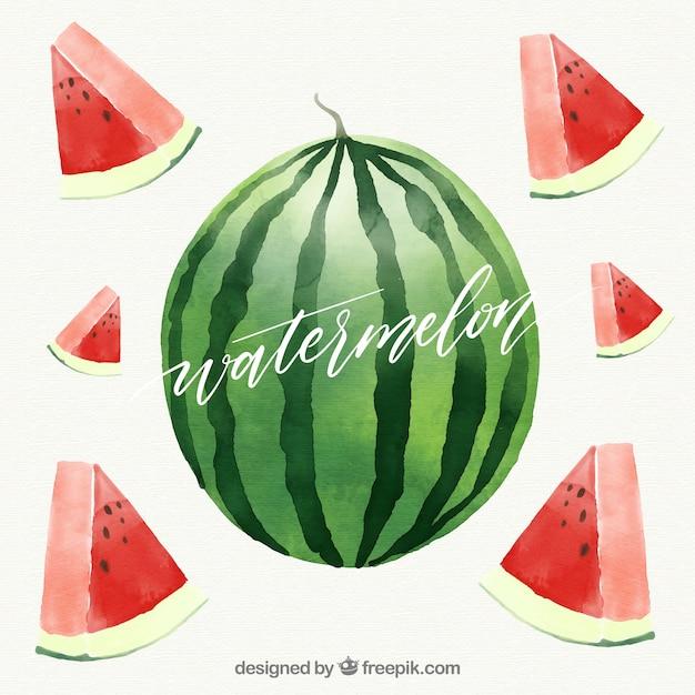 Fruit background design