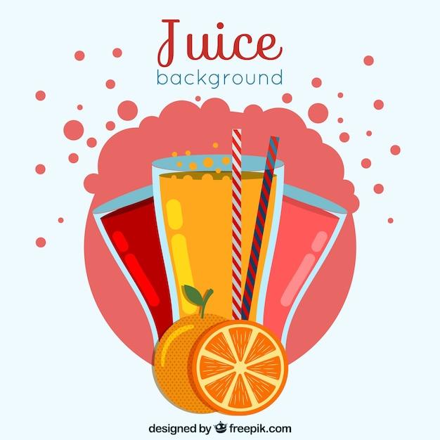 Fruit juice background
