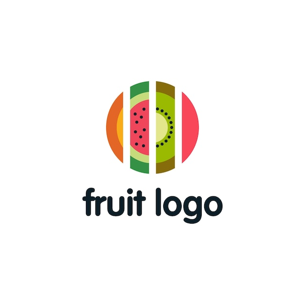 Fruits Logo Design Vector Premium Download