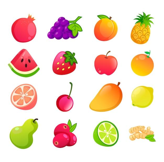 果物 Premiumベクター