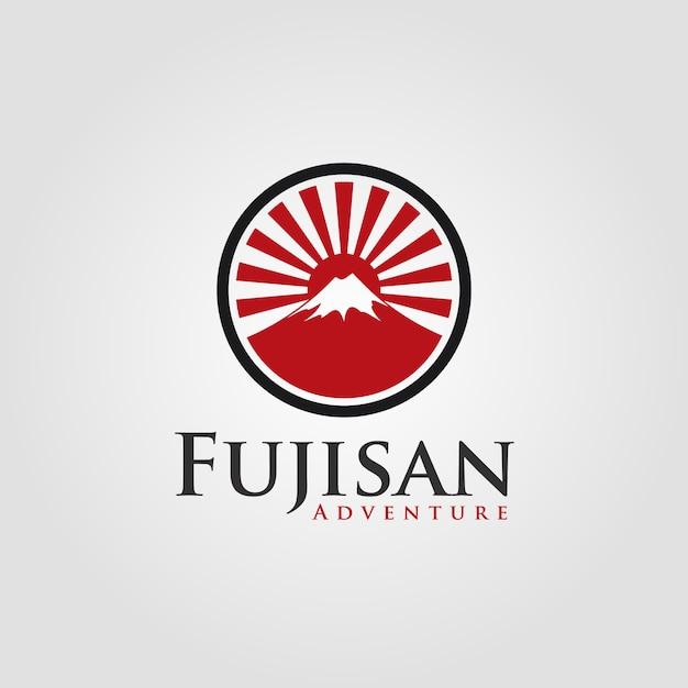 Fujisan - japanese logo Premium Vector