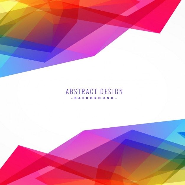 full color background with polygonal shapes vector | free download