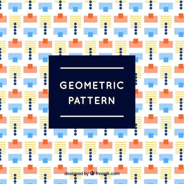 Fun and modern geometric pattern