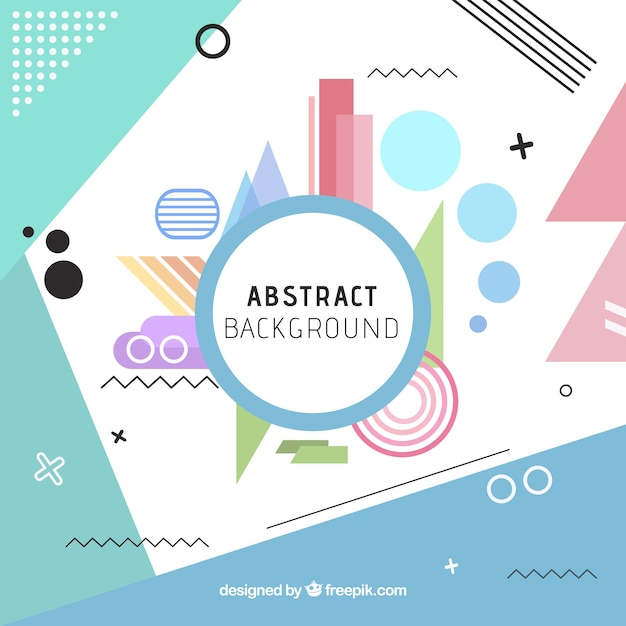 Fun background with abstract style vector free download fun background with abstract style free vector stopboris Image collections