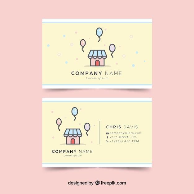 Imageeepikfree vectorfun business card wi colourmoves