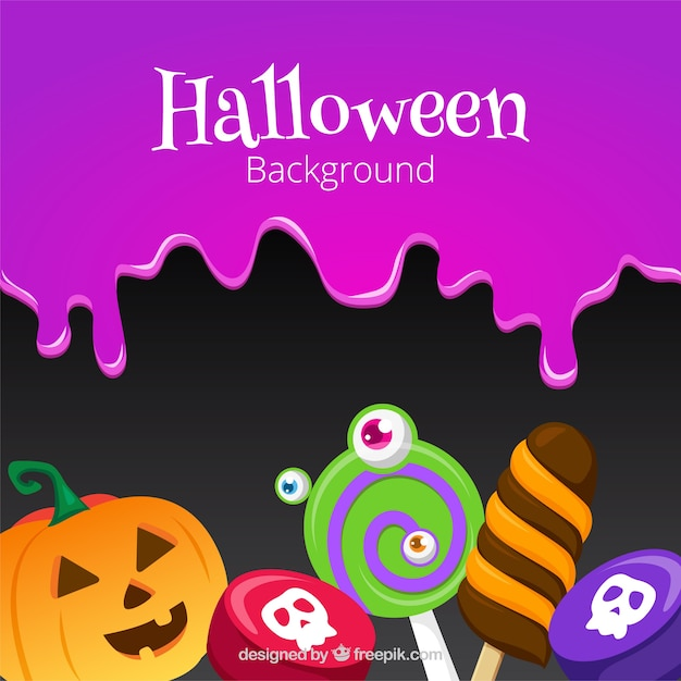 fun halloween background with candies stock images page everypixel