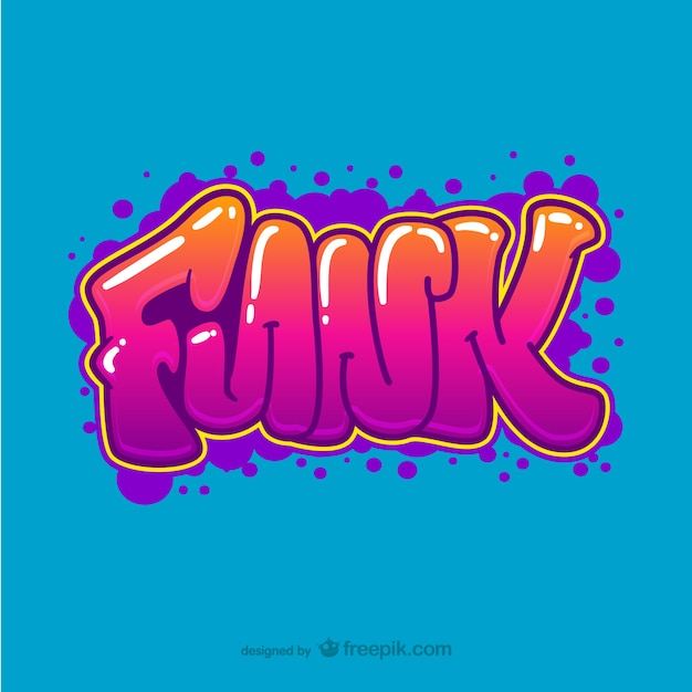 Funk Graffiti Vector Vector Free Download